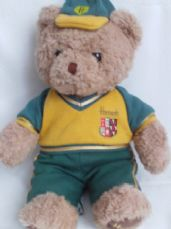 Adorable Big Rare Vintage 'Harrods' Collectable Teddy Bear